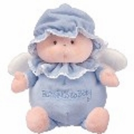 Ty Baby Soft Plush Blessings to Baby Light Blue