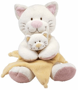 Ty Baby Soft Plush Cuddlekitty