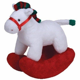 Ty Baby Soft Plush Pretty Pony Christmas
