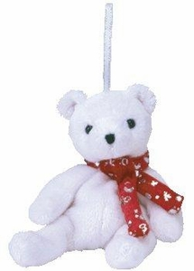Ty Beanie Baby  Jingle Beanies 2000 Holiday Teddy