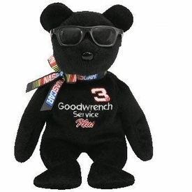 Ty Beanie Baby #3 The Nascar Bear