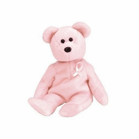 Ty Beanie Baby Aware the Breast Cancer Awareness Bear