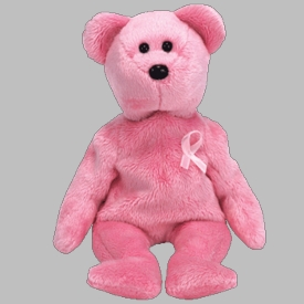 Ty Beanie Baby Awareness the Bear