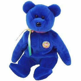 Ty Beanie Baby  Clubby the Bear