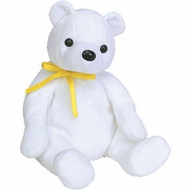 Ty Beanie Baby Color Me Birthday  the Bear