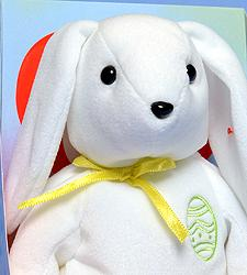 Ty Beanie Baby Color Me Bunny (Green)
