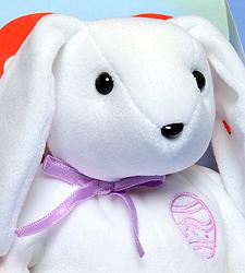 Ty Beanie Baby Color Me Bunny (Purple)