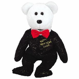 Ty Beanie Baby Countdown the Bear