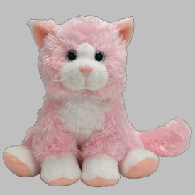 Ty Beanie Baby Curtsy the Cat