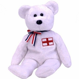Ty Beanie Baby England the Bear