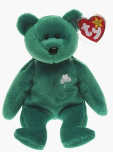 Ty Beanie Baby Erin the Irish St Patricks Teddy Bear