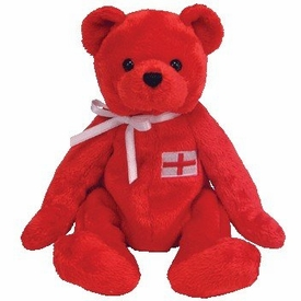 Ty Beanie Baby European Exclusive George the Bear