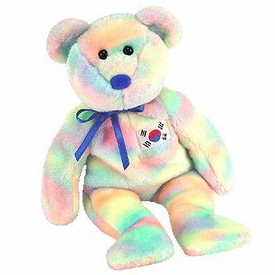 Ty Beanie Baby Exclusive Coreana the Korean Bear