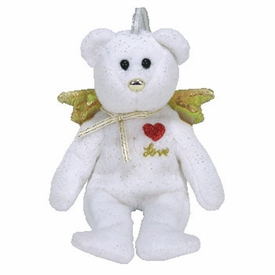 Ty Beanie baby Jingle Beanies Gift the White Bear