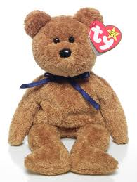 Ty Beanie Baby Fuzz the Bear