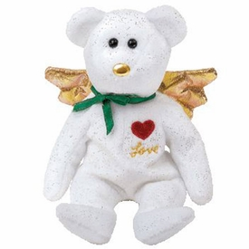 Ty Beanie Baby Gift the White Bear