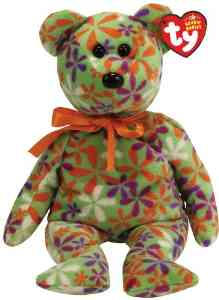 Ty Beanie Baby Groovey the Bear