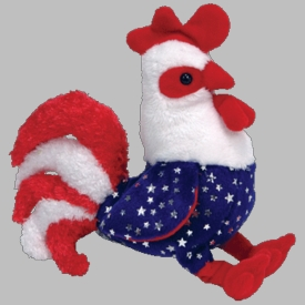 Ty Beanie Baby Homeland The Rooster