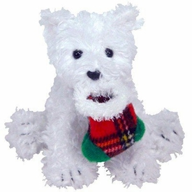 Ty Beanie Baby Jingle Beanies Presents the Dog