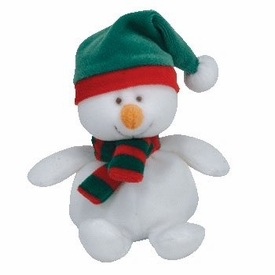 Ty Beanie baby  Jingle Beanies ICECAPS the Snowman