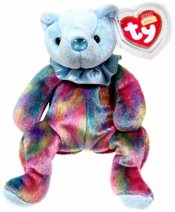 Ty Beanie Baby March the Birthday Bear