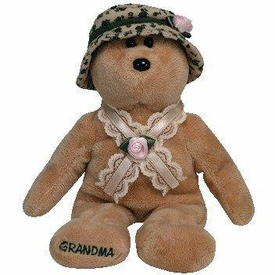 Ty Beanie Baby Nana The Bear