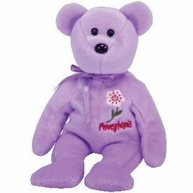 Ty Beanie Baby PENNSYLVANIA MOUNTAIN LAUREL the Bear