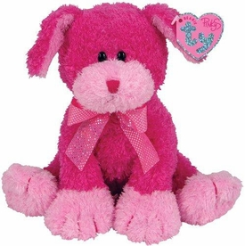 Ty Beanie Baby Pinkys Fanciful the Dog