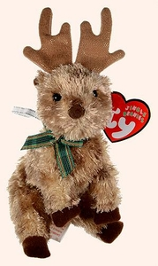 Ty Beanie Baby Jingle Beanies Rudy the Reindeer