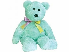 Ty Beanie Baby Sherbert the Bear Green Version