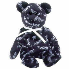 Ty Beanie Baby Silver the Bear