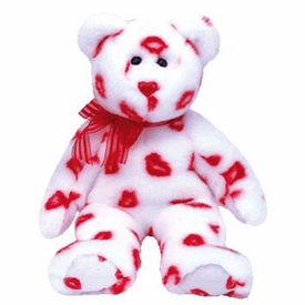 Ty Beanie Baby Smooch the Kisses Bear