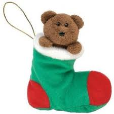 Ty Beanie Baby Stockings the Bear