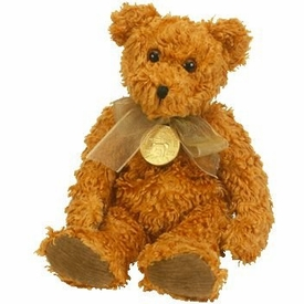 Ty Beanie Baby Teddy the Brown Bear Celebrating 100 Years