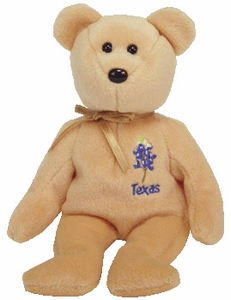 Ty Beanie Baby Texas Bluebonnet Flower Bear