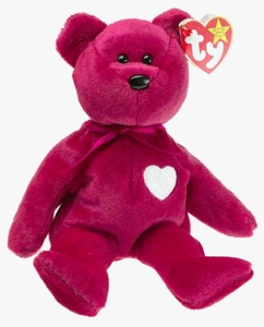 Ty Beanie Baby Valentina the Bear