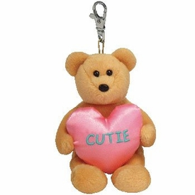 Ty Beanie Baby Valenteenies Keychain You're A Cutie