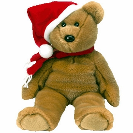 Ty Beanie Buddy 1997 Holiday Teddy the Bear