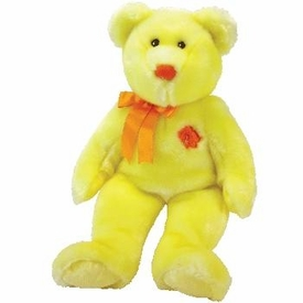 Ty Beanie BUDDY Asia Pacific Flower Exclusive Bunga Raya the Malaysia Bear