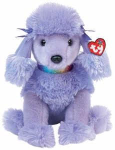 Ty Beanie Buddy Demure the Blue Poodle Dog