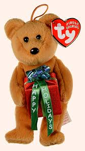Ty Jingle Beanie Gifts the Bear