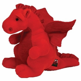 Ty Beanie Buddy UK Exclusive Y DDRAIG GOCH the Dragon