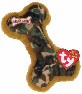 Ty Bow Wow Beanies Camoflage Bone (small)