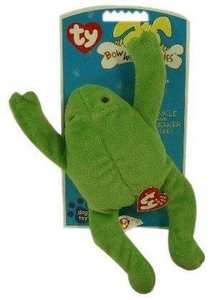 Ty Bow Wow Beanies Legs the Frog (Large)