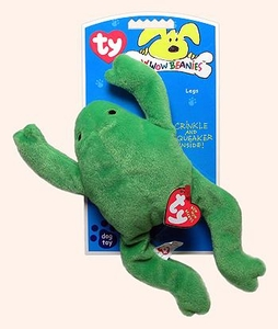 Ty Bow Wow Beanies Lil' Legs the Frog (small)