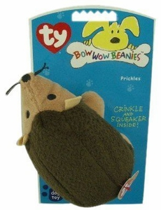 Ty Bow Wow Beanies Prickles The Hedgehog
