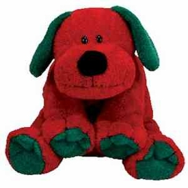 Ty Christmas Pluffies Plush Jingles the Dog