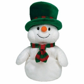 Ty Christmas Pluffies Plush Mr. Snow the Snowman