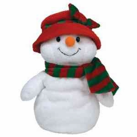 Ty Christmas Pluffies Plush Ms. Snow the Snow Woman