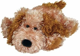 Ty Classic Plush Fiddle the Dog with Squeaker Inside Nose